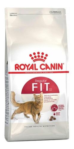 Imagen 1 de 1 de Alimento Royal Canin Feline Health Nutrition Fit 32 para gato adulto sabor mix en bolsa de 400g