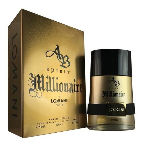 Perfume Spirit Millionaire Lomani Edt 200 Ml Original Lacrad