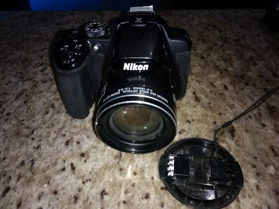 Câmera Nikon P520 Para Retirada De Peças
