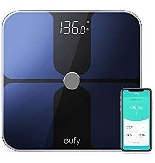 Eufy Smart Scale With Bluetooth 4.0, Large Led Display, Weig
