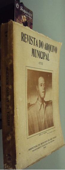 Revista Do Arquivo Municipal - Homenagem A Mario De Andrade