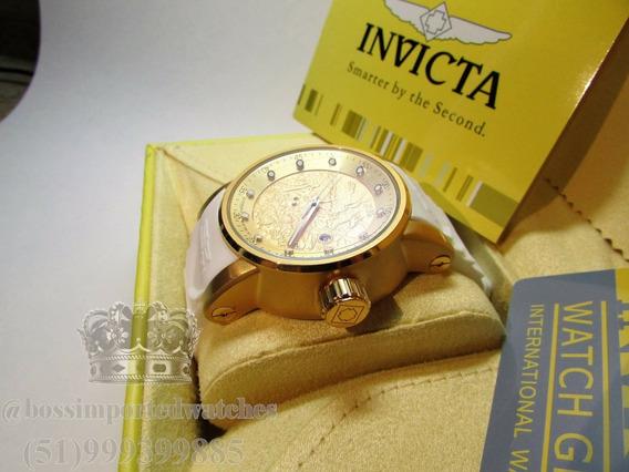 Relógio Invicta Yacuza Automático Ouro 18k Frete Grátis