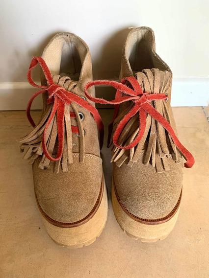 Zapatos Sofia De Grecia Impecables Poco Uso!