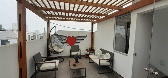 Departamento Duplex 3 Dormitorios Y Terraza En Miraflores