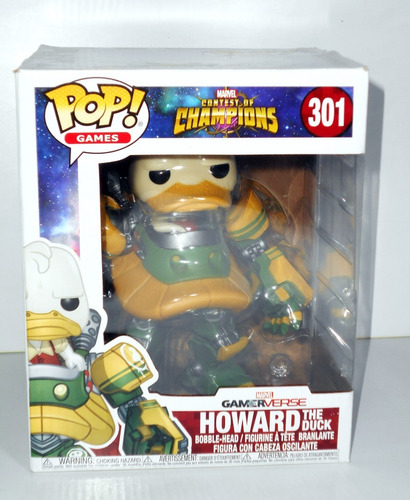 Marvel Contest Of Champions - Howard The Duck - Funko