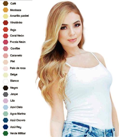Blusa Basica Para Mujer Algodon Licrado Paqueta X 2
