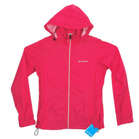 Chamarra Impermeable Columbia Switchback Para Mujer Talla M