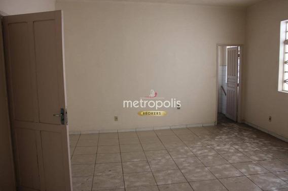 Sala Para Alugar, 160 M² Por R$ 2.800,00/mês - Santo Antônio - São Caetano Do Sul/sp - Sa0356