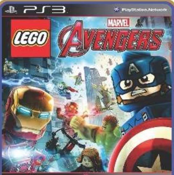 Jogo Lego Marvel Avangers Ps3 Em Oferta