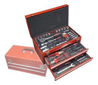 Caja Herramientas 90 Pcs Destornillador Llave Iael Ll-015