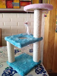 Rascador Con Juguete Para Gato Pequeño (gatito)