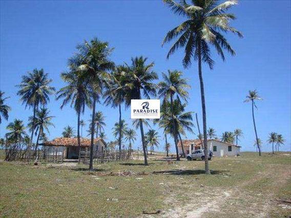 Área Frente Mar, Conde - R$ 2.600.000,00, 436.000m² - V24500