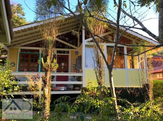 Casa Em Condomínio Para Venda Em Nova Friburgo, Chácara Paraíso, 3 Dormitórios, 1 Suíte, 2 Banheiros, 1 Vaga - 030