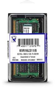 Memória Kingston Ddr3l 1600mhz 8gb Dell Inspiron 15 5548