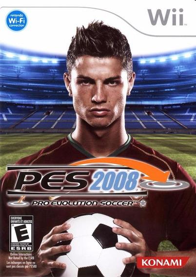 Pro Evolution Soccer - Pes 2008 (wii) Usado - Original