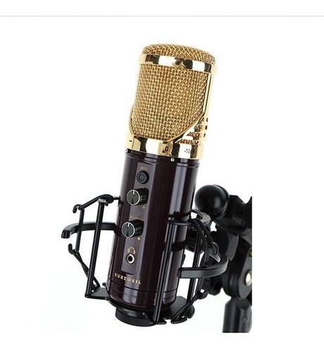 Microfono Usb Kurzweil Para  Home Studio Con Salida De Auri