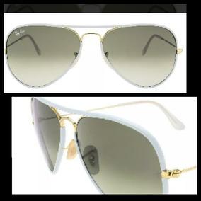 be9bd3f1f Ray Ban Aviador Transparente - Óculos no Mercado Livre Brasil