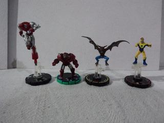 Marvel Dc Lote 4 Heroclix Diferentes Personajes