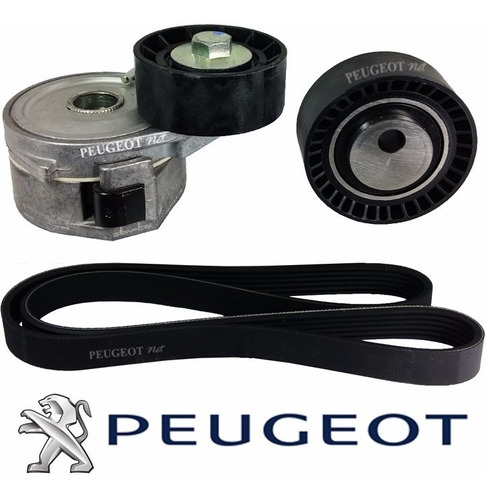 Imagen 1 de 2 de Kit Correa Poly-v P/ Peugeot Partner 1.9 Diesel Original