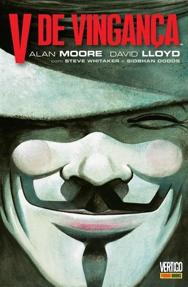 V De Vingança - Allan Moore & David Lloyd - Vertigo