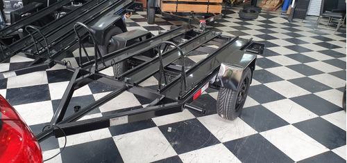 Carreta Assunção Para 2 Motos - 2,00 X 1,30