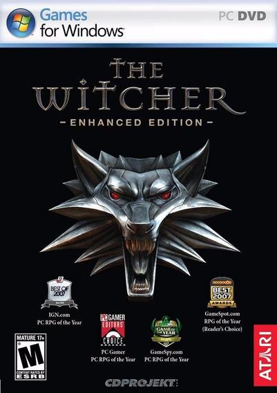 The Witcher Enhanced Edition ( Mídia Física ) Frete Gratis