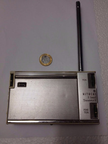 Rádio Mw-(am) / Mb Hitachi Wh-829 Made In Japan