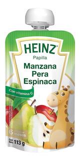 Papilla Heinz Manzana Pera Y Espinaca Etapa 2 113 Gr