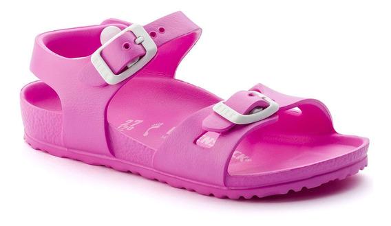 Birkenstock Sandália Rio Kids Eva Narrow Pink + Barato