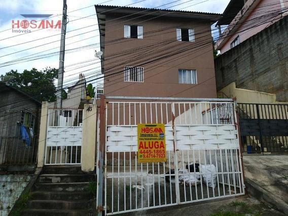 Sobrado Com 2 Dormitórios Para Alugar, 70 M² Por R$ 1.000/mês - Jardim Luciana - Franco Da Rocha/sp - So0819