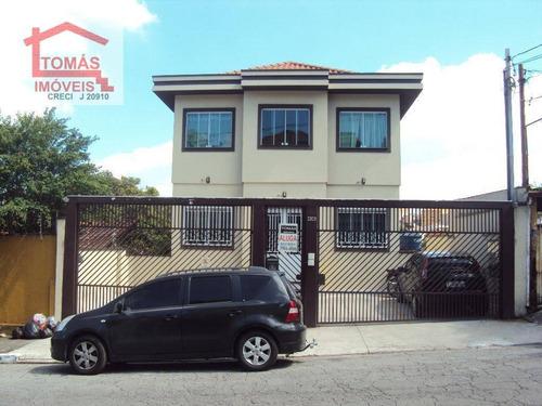 Casa Com 2 Dormitórios Para Alugar, 60 M² Por R$ 1.450,00/mês - Vila Mangalot - São Paulo/sp - Ca0754