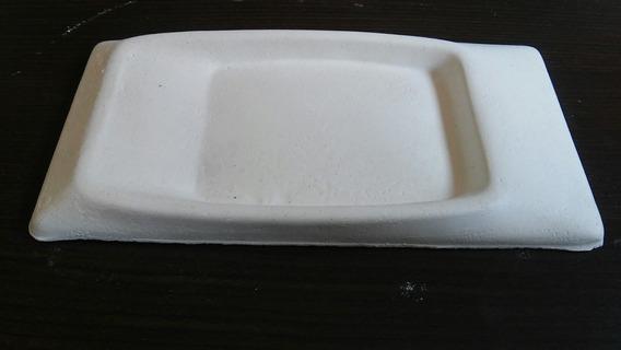 Molde Forma De Silicone Para Gesso 3d 12x23 Atm95