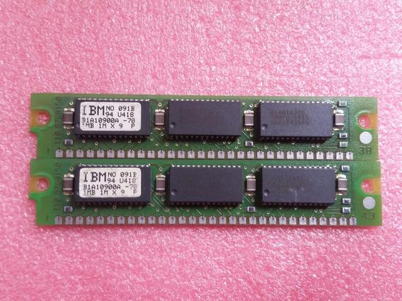 Memória Ram Simm 1mb Ibm 30 Pinos Memoria 386dx 386sx 486dx