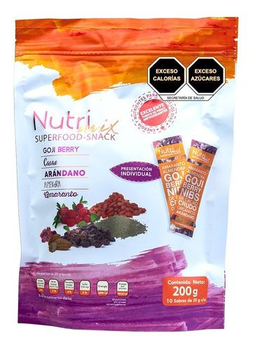 Imagen 1 de 6 de Nutrimix Deliciosos Shots De Snack Saludable 200 Gr