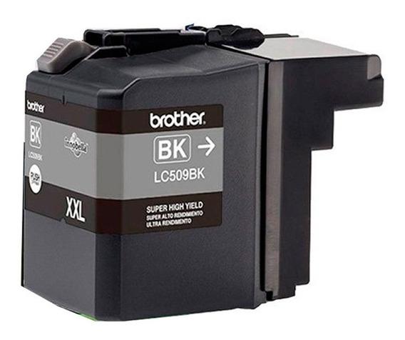 Cartucho Black Original Brother Lc509 Lc-509bk Xxl Mfc-j200