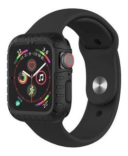 Capa Case Para Apple Watch Antishock + Pulseira Luxo 40/44mm