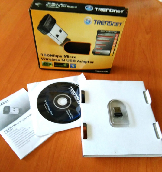 Trendnet 150mbps Micro Wireless N Usb Adapter