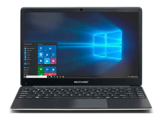 Notebook Multilaser Legacy Intel Celeron N3350 4gb 64gb W10