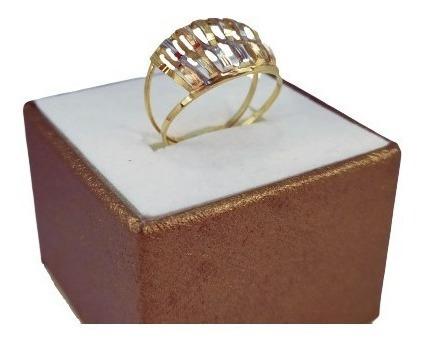 Promoção! Anel Feminino Ouro 18k Luxo Love Star 1422