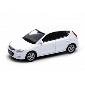 Miniatura Hyundai I30 Branco 1:60 - Welly