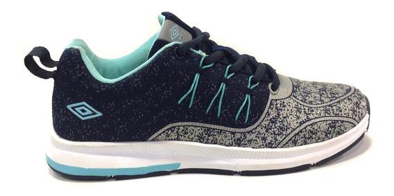 Zapatos Umbro Originales Para Damas - Um16782w - Navy Aqua