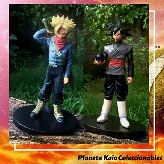 Combo Figuras Goku Black + Trunks Ssj, Dragon Ball Super