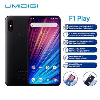 Umidigi F1 Play 64gb 6.3 Fhd Hélio P60 Android 9 Nfc 5150mah