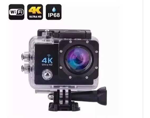 Filmadora Câmera 4k Capacete Wifi Mergulho Moto Bike Trilha