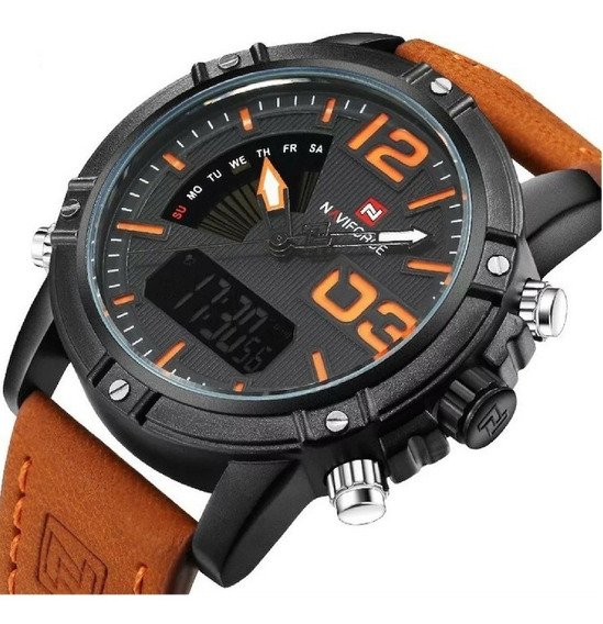Relógio Naviforce Masculino Modelo 9095 Original