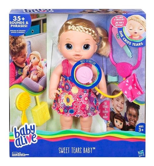 Baby Alive Dulces Lagrimas Con Sonido Y Lagrimas