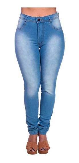 Kit 3 Calças Jeans Feminina Cintura Alta Flare Atacado