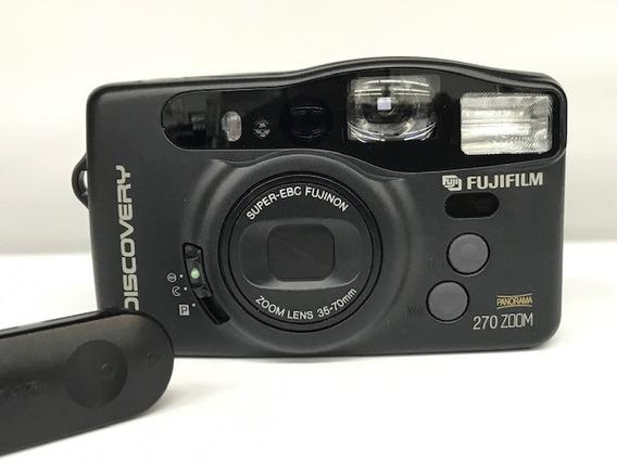 Câmera Fuji Dl-270 Zoom Discovery (analógica).