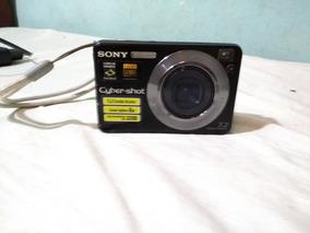 Camara Fotografica Sony Cyber-shot Com Carregador E Bateria