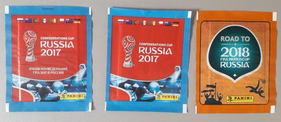 3 Envelopes Road Copa Do Mundo 2018 E Confederações 2017